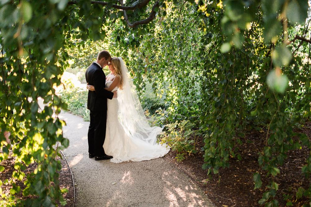 Morton Arboretum Wedding Chicago Eric Jessica